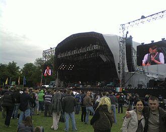 Marlay Park - An outdoor concert at Marlay Park