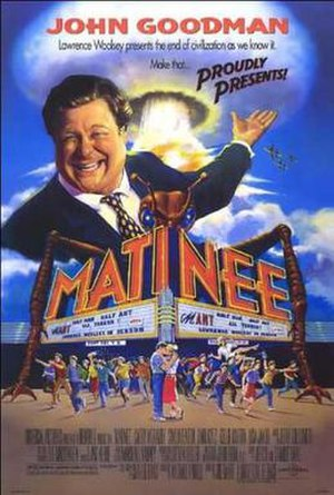 Matinee (1993 film) - Theatrical release poster