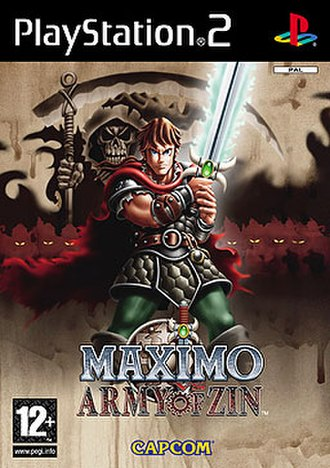 Maximo vs. Army of Zin - Cover art