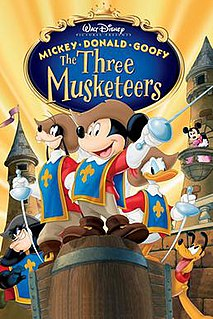 <i>Mickey, Donald, Goofy: The Three Musketeers</i> 2004 film directed by Donovan Cook