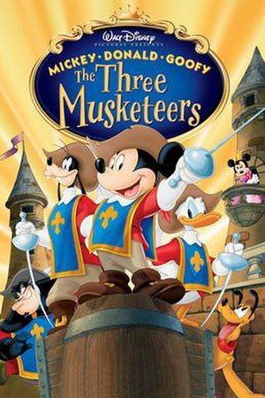 Mickey, Donald, Goofy: The Three Musketeers - Image: Mickey, Donald, Goofy The Three Musketeers poster