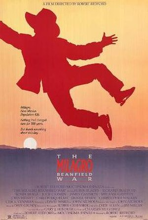 The Milagro Beanfield War - Theatrical release poster