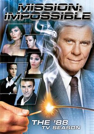 Mission: Impossible (1988 TV series) - 1988 season DVD set cover