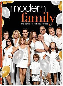 Modern Family season 9 DVD