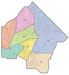Mpdc fifth district map
