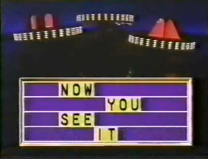 Now You See It (U.S. game show) - Image: NYSI 89 opening title
