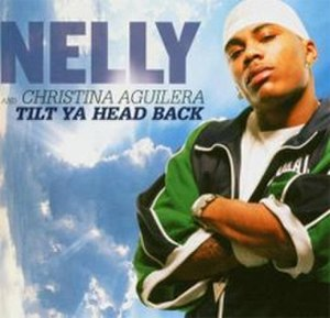 Tilt Ya Head Back - Image: Nelly and Christina Aguilera Tilt Ya Head Back CD cover