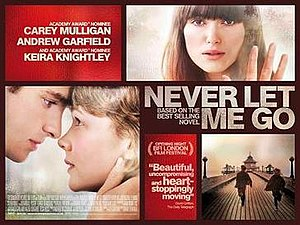 Never Let Me Go (2010 film) - UK theatrical release banner
