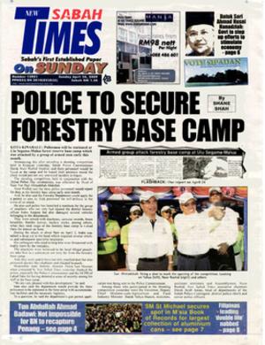 New Sabah Times - Image: New Sabah Times