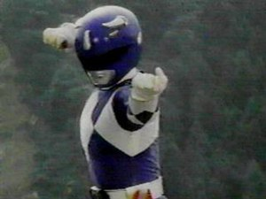 Billy Cranston - Billy as the Blue Power Ranger.