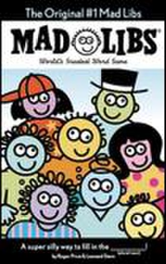 Mad Libs - The cover of a Stern and Price Mad Libs book