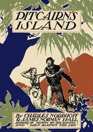 Pitcairn's Island (novel) - First edition cover