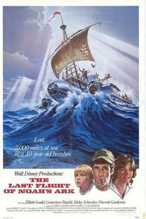 The Last Flight of Noah's Ark - Theatrical film poster