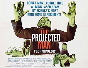 The Projected Man - British release poster