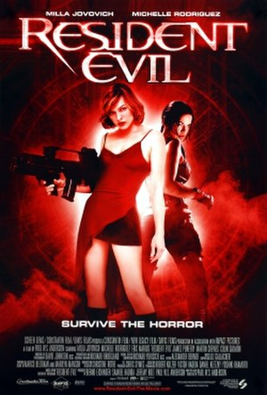 Resident Evil (film) - Theatrical release poster