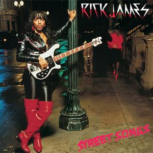 Street Songs (album) - Image: Rick James Street Songs
