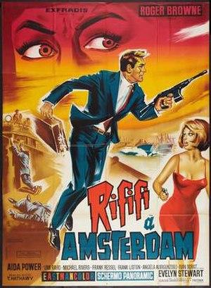 Rififi in Amsterdam (1966 film) - Image: Rififi in amsterdam movie poster