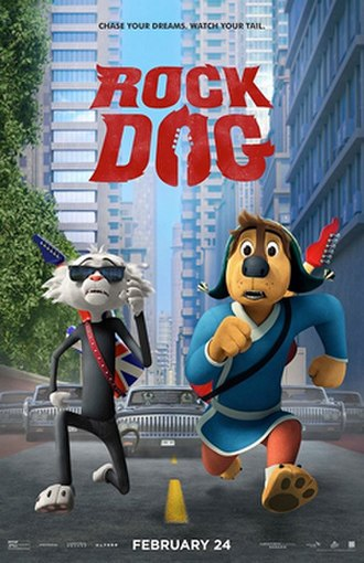Rock Dog - Theatrical release poster
