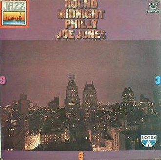Round Midnight (Philly Joe Jones album) - Image: Round Midnight (Philly Joe Jones album)