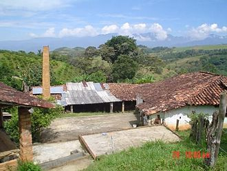 Farm building in Socorro in the outer rural part of the town. Rural socorro.jpg