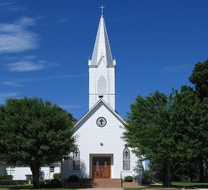 Prairie Hill, Washington County, Texas - Saint John Lutheran Church, aka Prairie Hill Church