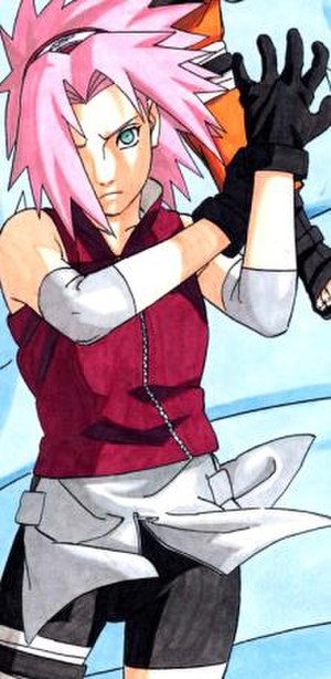 Sakura Haruno - Sakura as she appears in Part II.