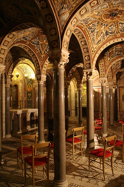 File:Santa Cecilia Crypt Chapel.JPG