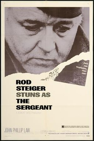The Sergeant (1968 film) - Image: Sergeant poster