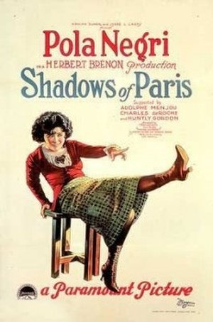Shadows of Paris - Film poster