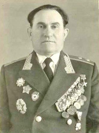 363rd Rifle Division (Soviet Union) - Postwar photo of then-Lt. Gen. K. V. Sviridov
