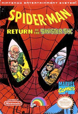Spider-Man: Return of the Sinister Six - Image: Spiderman return of the sinister six NES