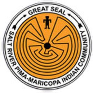 Salt River Pima–Maricopa Indian Community - SRPMIC flag