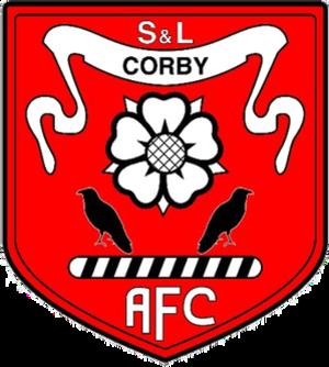 Stewarts & Lloyds Corby A.F.C. - Image: Stewarts & Lloyds Corby F.C. logo