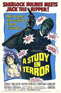 <i>A Study in Terror</i> 1965 film by James Hill