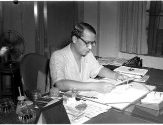 Chief Election Commissioner of India - Image: Sukumar Sen