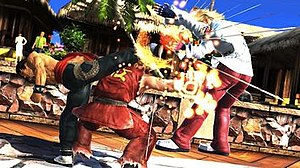 Tekken Tag Tournament 2 - The new game engine of Tekken Tag Tournament 2 allows up to four characters to appear on the screen at the same time