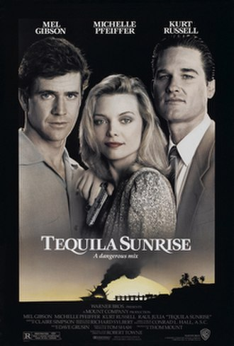 Tequila Sunrise (film) - Theatrical release poster