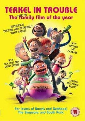 Terkel in Trouble - UK DVD cover