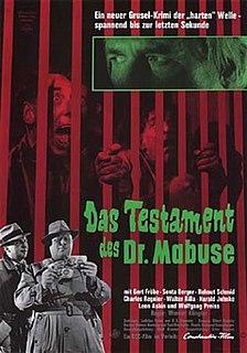 <i>The Testament of Dr. Mabuse</i> (1962 film)