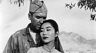 The Mountain Road - In a key scene, war brings Major Baldwin and Madame Su-Mei Hung together in an unlikely pairing.