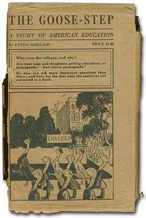 The Goose-Step (book) - First edition