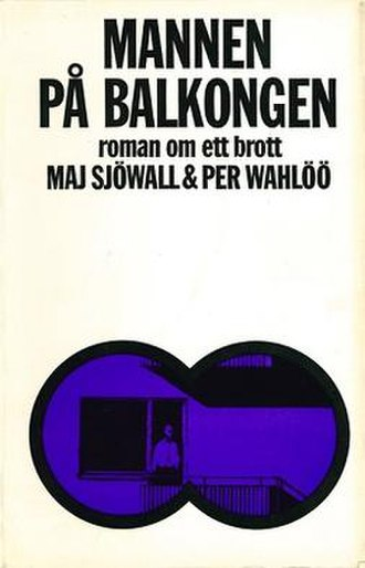 The Man on the Balcony - First edition (Swedish)
