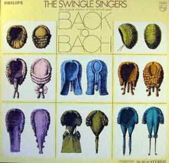 Back to Bach - Image: The Swingle Singers Back To Bach