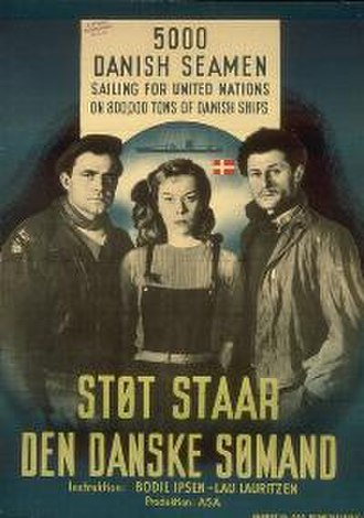 The Viking Watch of the Danish Seaman - 1948 Movie Poster by Kai Rasch