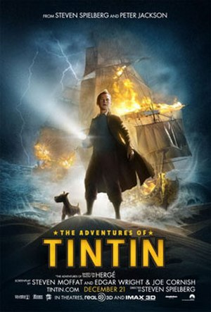 The Adventures of Tintin (film) - Theatrical release poster