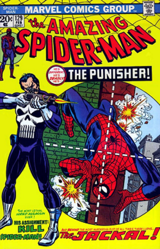 Punisher - Image: The Amazing Spider Man vol 1 129 (Feb. 1974)