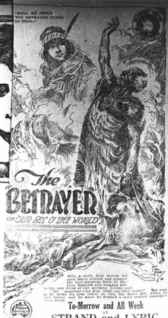 The Betrayer - Original newspaper advertisement