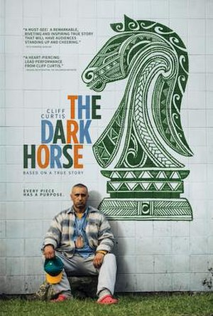 The Dark Horse (2014 film) - Theatrical release poster