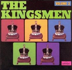 The Kingsmen Volume 3 - Image: The Kingsmen Volume 3