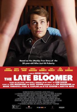 The Late Bloomer - Theatrical release poster